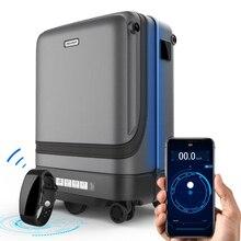 """TRAVEL TALE maleta giratoria inteligente de 20 """", aplicación remota de control, cubierta de carrito con ruedas"""