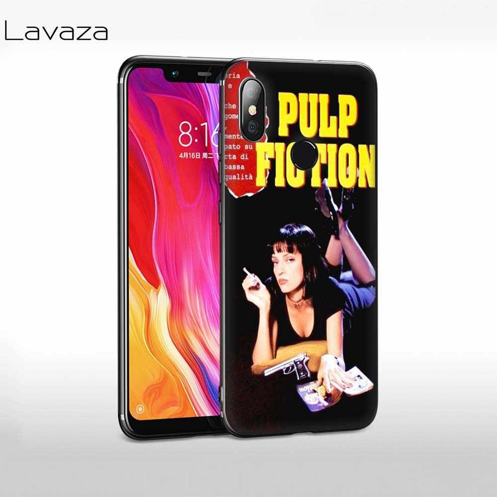 Lavaza film Pulp Kurgu Yumuşak Silikon Kapak Xiaomi Redmi için 4A 6A S2 Gitmek Not 7 4 4x5 6 Pro 5A Başbakan TPU Kılıf