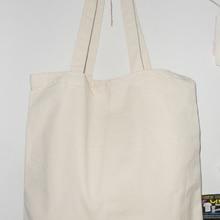 Standard shipping 36x39cm blank plain canvas bag for magazine books organizer carrier