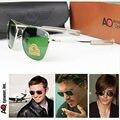 Солнцезащитные очки «Авиатор Для мужчин 2020 оттенки пилот Американский военный оптический AO Защита от солнца, очки для улицы, спортивные, му...