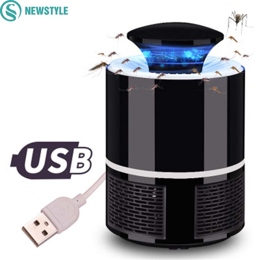 newstyle Mosquito Killer Light/Lamps Led USB Anti Fly Mosquito Lamp Home LED Insect Killer Mosquito lamp No Radiation household solar mosquito killer outdoor electric shock killer led lighting anti mosquito dual mute radiation free
