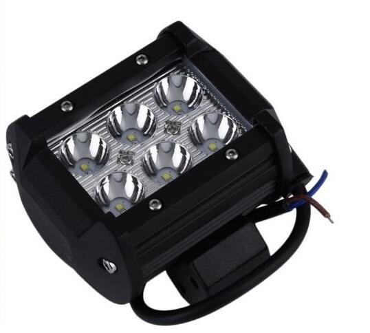 1Pcs 3 cree*6 18W led work bar lamp LED spot flood light 24v Motorcycle Bike Driving Vehicle ATV Barra Boat emergency light