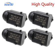 (4 Pcs) High Quality Parking Sensor A0045428718 For M ercedes C E S ML W171 W203 W209 W210 W219 W230 W251W639 W164 0045428718