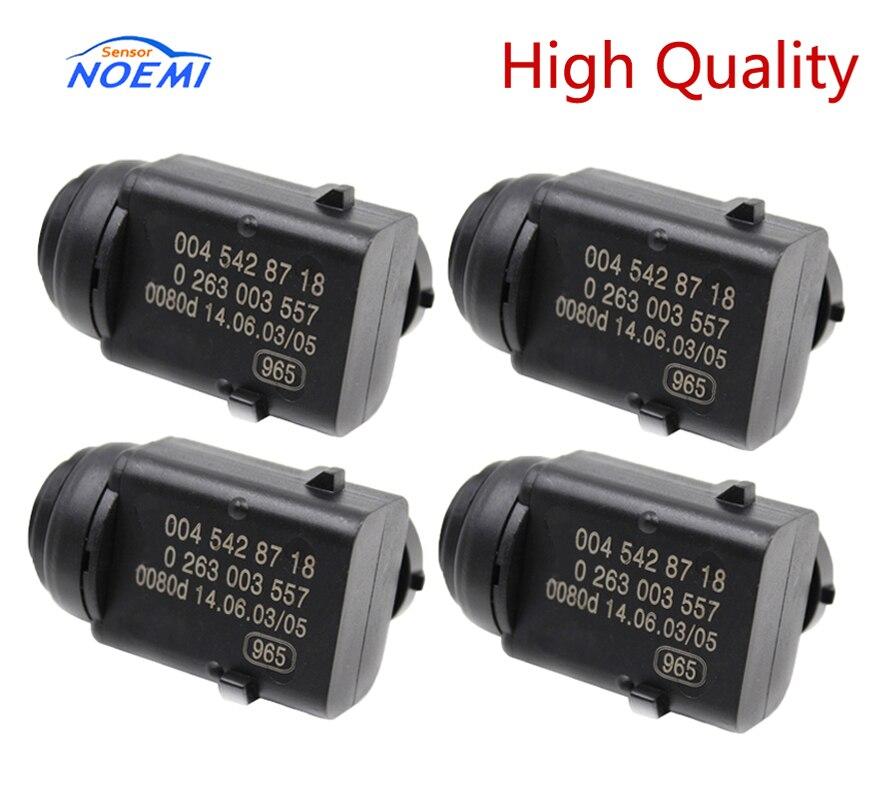 yaopei 4 pcs lote a0045428718 sensor de estacionamento para mercedes c e s ml w171 w203
