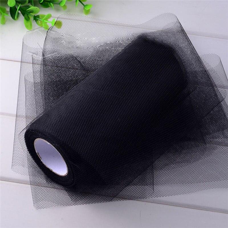 Brand  Tissue Tulle Paper Roll Spool Craft Wedding Birthday Holiday Decor Black