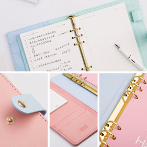 Image 3 - Agenda 2020 Notebooks Planner Kawaii Diary Journal Weekly Monthly A5 School Office Supplies Stationary Organizer Schedule