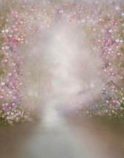 С цветочным принтом фотографии природы scenics Задний план d-9009