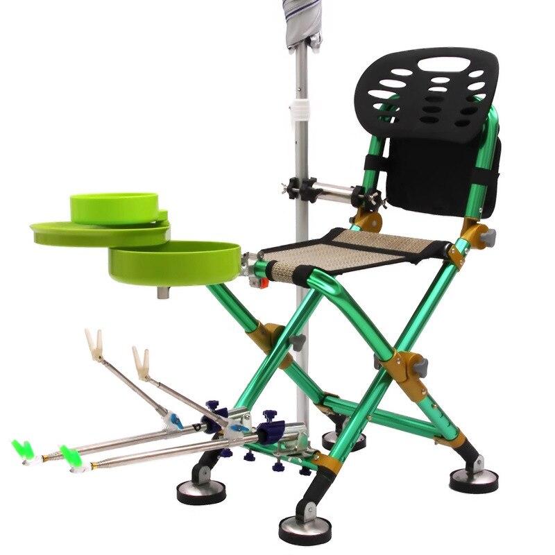 Portable Sillas Lune Chaise De Pêche Camping Chaise Tabouret Silla Étendu Chaise Stoel Jardin Ultra-Léger Une Chaise Meubles de Maison