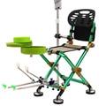 Silla de Luna portátil Silla de pesca Camping Chaise taburete Silla extendida STOL jardín ultraligero una Silla muebles para el hogar