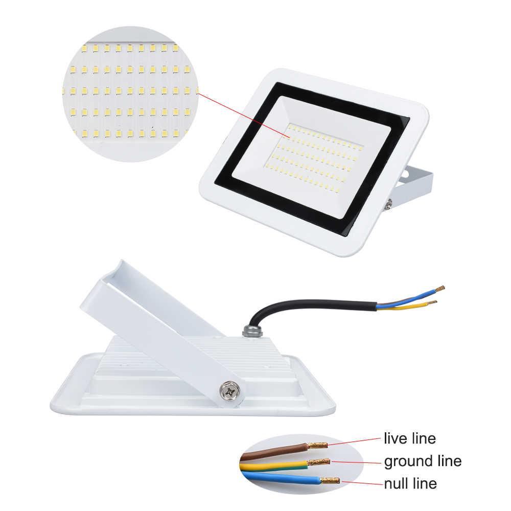 10W 20W 30W 50W 100W 230V LED Flutlicht Spotlight Wasserdichte Led Suche Licht Im Freien lampe Flutlicht für Park Straße Platz