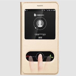 Image 5 - FDCWTS עבור Huawei P8 לייט 2017 קייס הכבוד 8 Lite כיסוי Flip חלון יוקרה ארנק חזרה כיסוי טלפון כיסוי עור לכבוד 8 לייט