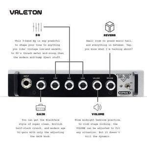 Image 3 - Wzmacniacz gitarowy Valeton z pogłosem zniekształcenia Overdrive asfaltowy TAR 20G pedał platforma wzmacniacz głowy z CAB SIM