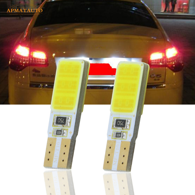 US $2 12 45% OFF|2 x T10 W5W License Number Plate Light LED Bulbs Lamp For  CITROEN C2 C4 C4L C5 Elysee Picasso EX Triomphe Quatre-in Car Light