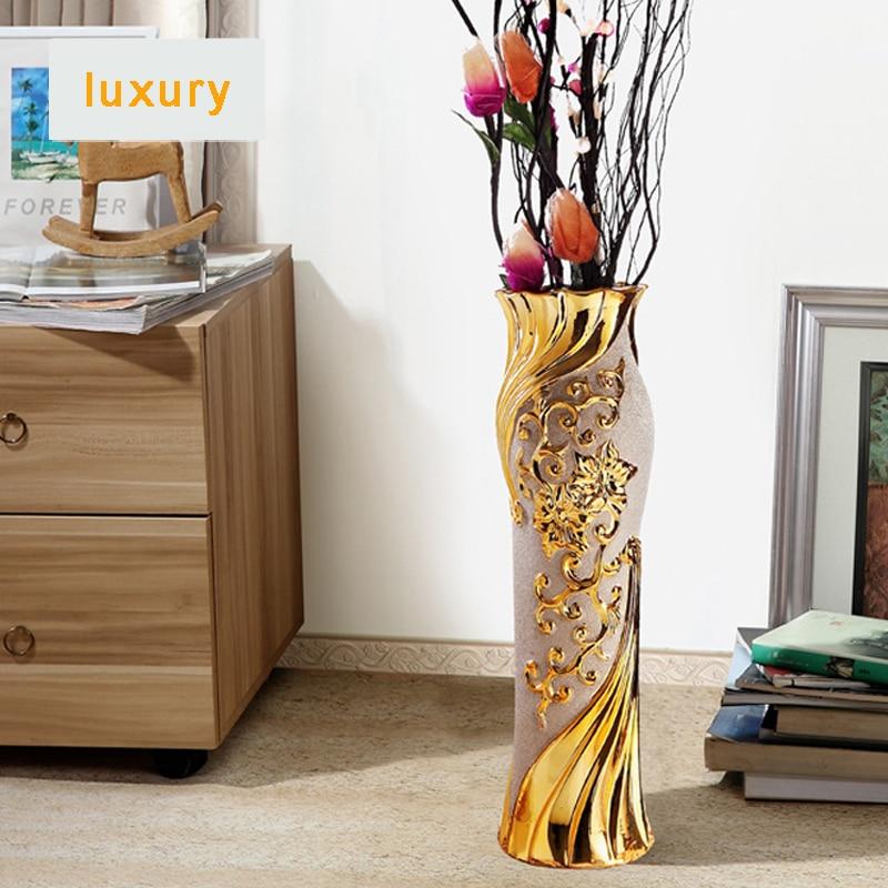 Vasos decorativos grandes imagem u vasos with vasos for Jarrones de suelo modernos