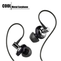New Stereo Earphone super bass earphones with MIC For iPhone 6 6S for Samsung Galaxy note 7 XIAOMI redmi pro phones MP3 MP4