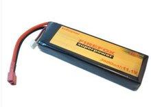купить 100% Orginal FireFox 11.1V 3600mAh 20C Li Po AEG Airsoft RC Battery +HK register free shipping по цене 4037.48 рублей