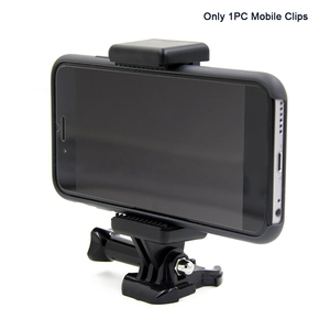 Image 1 - Monopods Clip Camera Accessory Portable Extendable Tripod Adapter Mount Adjustable With 1/4 Screw Hole Phone Holder For GoPro