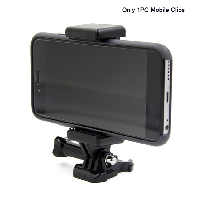 Monopods Clip Camera Accessory Portable Extendable Tripod Adapter Mount Adjustable With 1/4 Screw Hole Phone Holder For GoPro