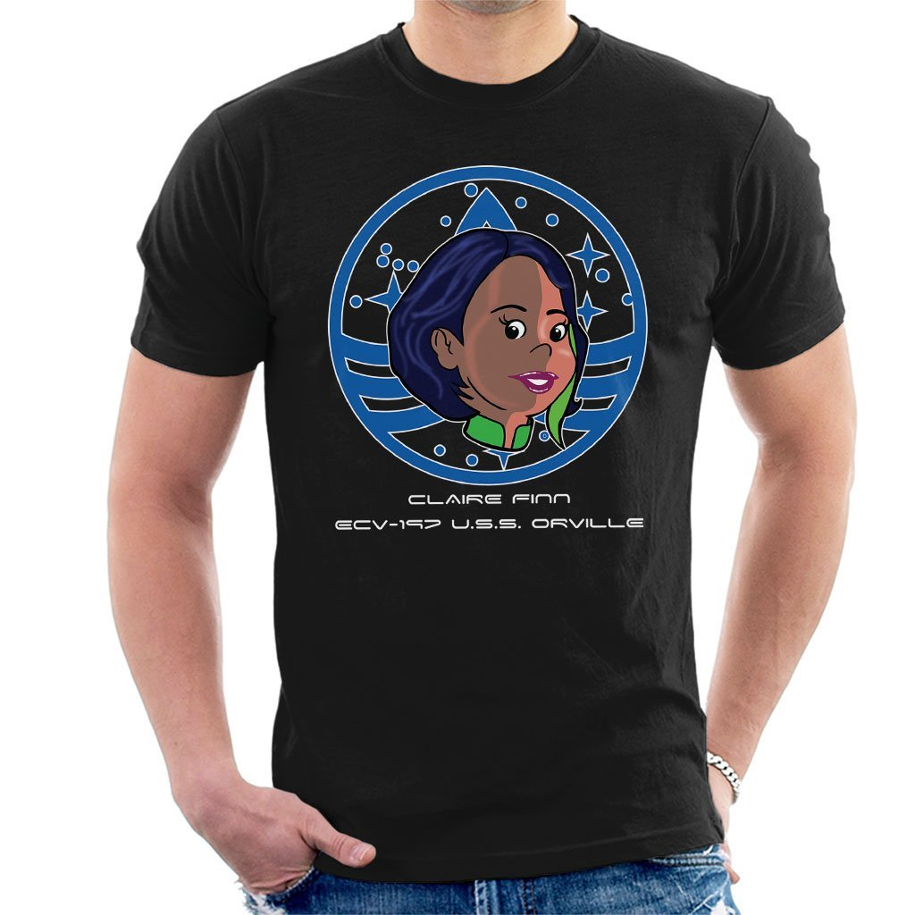 2018 fashion t-shirt Claire Finn USS Orville Badge Mens T-Shirt