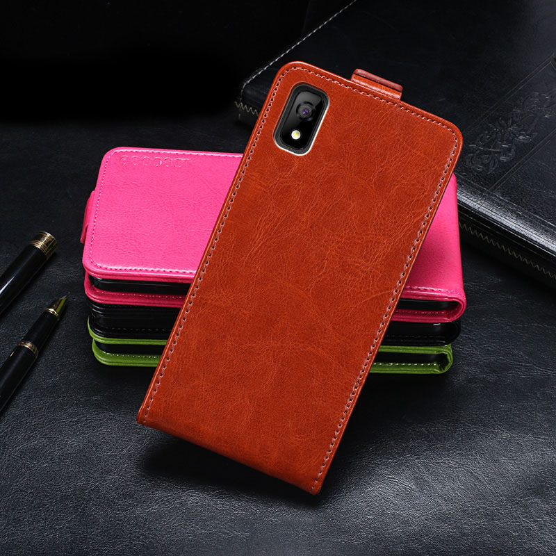 Elephone A4 Case Cover Luxury Leather Flip Case For Elephone A4 Protective Phone Case Back Cover