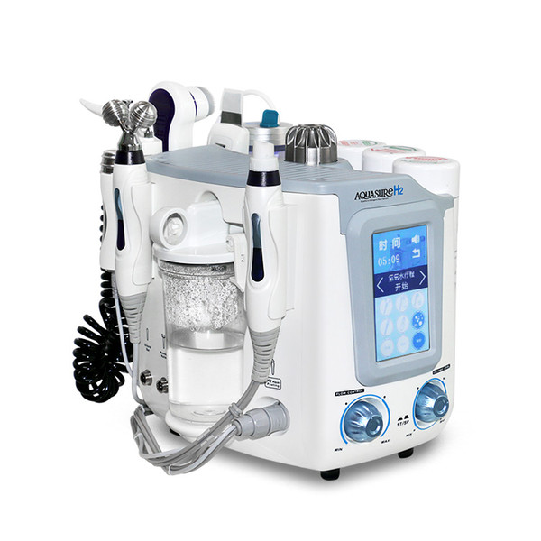 High Quality !!! Hydro Microdermabrasion Hydra Facial Skin Care Cleaner Water Aqua Jet Oxygen Peeling Spa Dermabrasion Machine