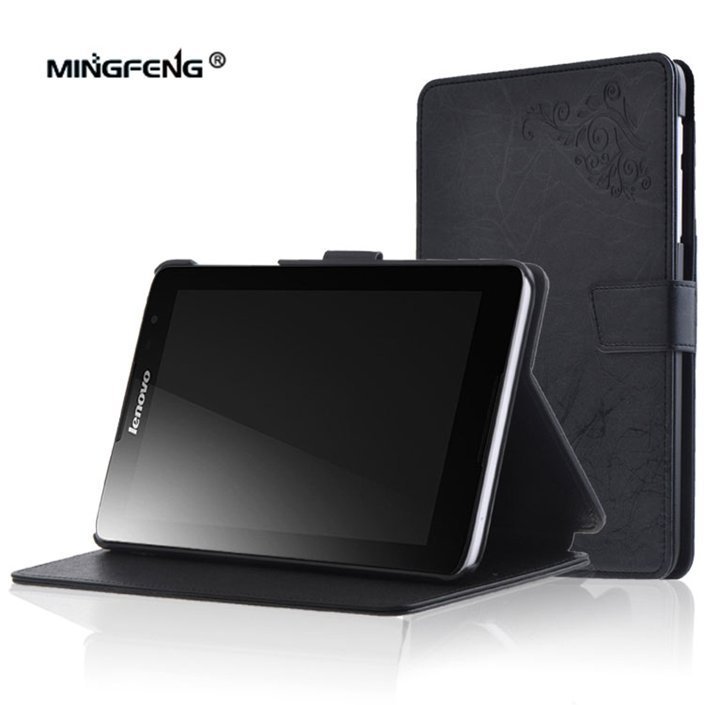 For Lenovo Tab A8 A5500 Case Print PU Cover Case for Lenovo Tab A8 A5500 A8-50 A5500-h A5500-f 8inch Tablet Case+Stylus Pen