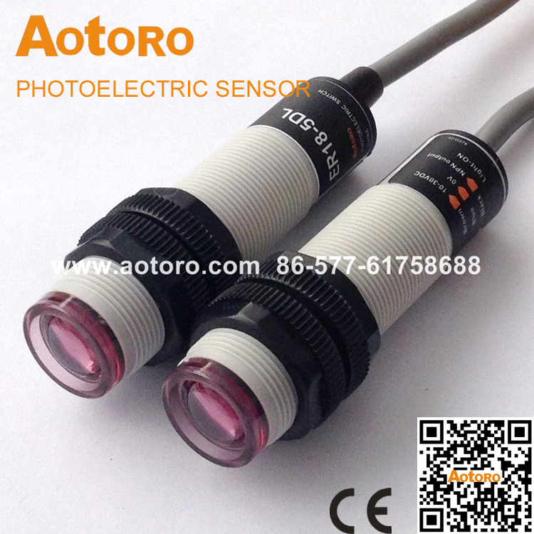 Popular Light Beam Sensor-Buy Cheap Light Beam Sensor lots from ...:automatic light photoelectric switch ER18-5B2,5DL transducer through beam  sensor quality guaranteed(,Lighting
