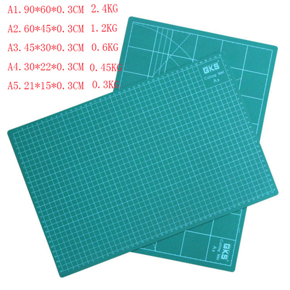 A5 A4 A3 A2 A1 Pvc Rectangle Grid Lines Self Healing Cutting Mat Tool Fabric Leather Paper Craft DIY tools A345CM * 30CM*0.3CM