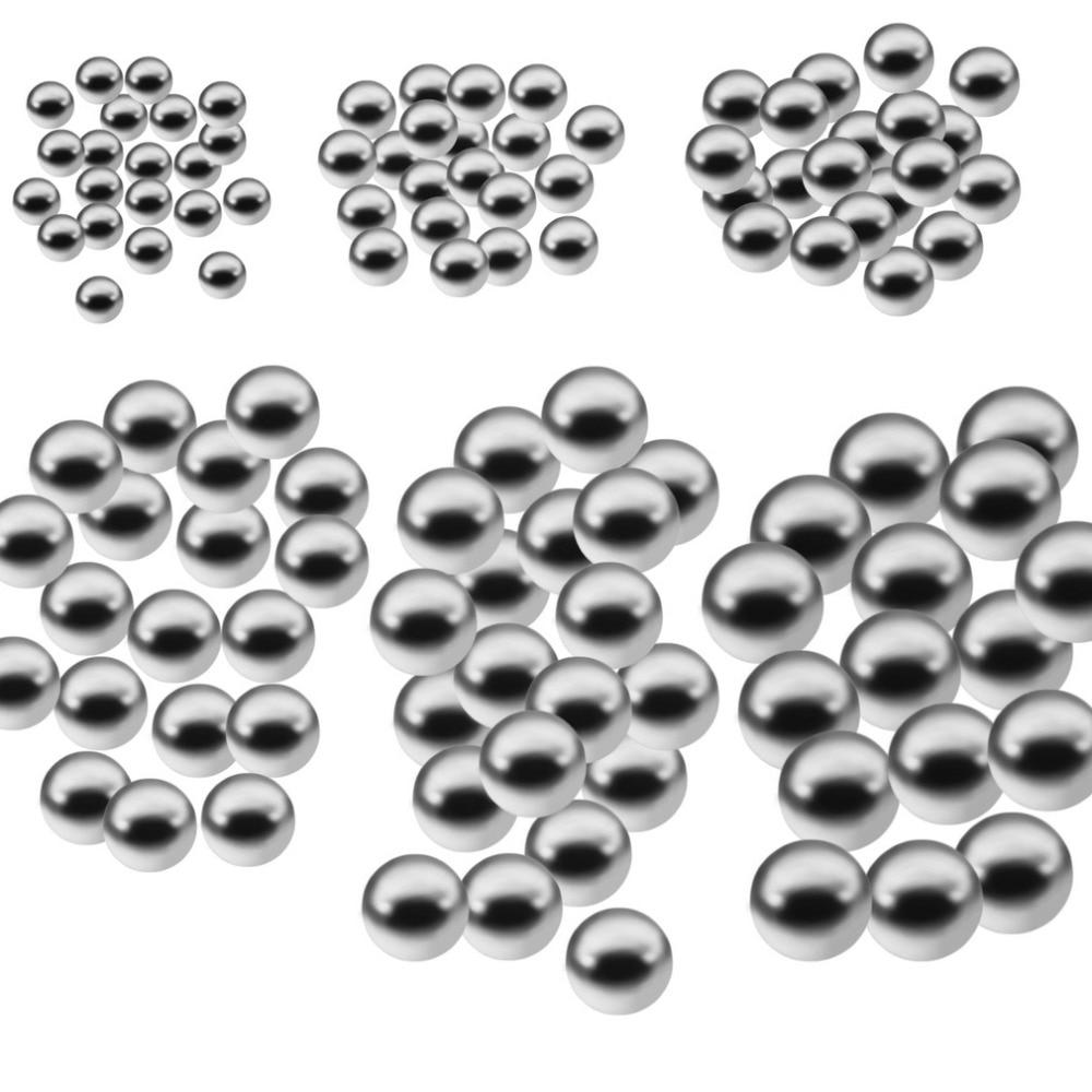 50 قطعة دراجة دائم كرة من فولاذ الكربون استبدال أجزاء 4 مللي متر 5 مللي متر 6 مللي متر 8 مللي متر 9 مللي متر 10 مللي متر دراجة دراجة الصلب الكرة تحمل...