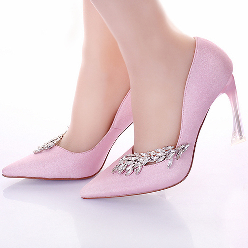 Popular Pink Satin Shoes-Buy Cheap Pink Satin Shoes lots from