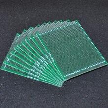 Carte PCB Double face sans soudure FR4 70x90mm, 5 pièces