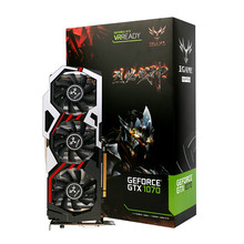 COLORFUL GPU iGame GTX 1070 Ymir U-8GD5 TOP Graphic Card GDDR5 PCI-E X16 3.0 Video Graphics Card DVI+HDMI+3DP Port for 1070 TOP
