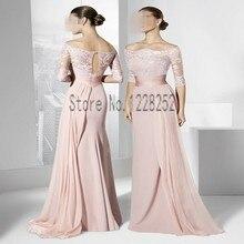 Neue Modische Spezielle Gelegenheits-kleid Weg Von der Schulter Langes Abendkleid Bodenlangen Kleid Für Kleider