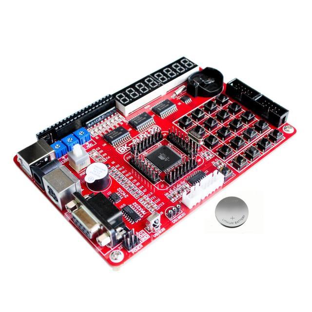 تاج أحمر عروض AVR مجلس التنمية ATMEGA128 لوحة تعليمية تجربة المجلس فائقة فعالة من حيث التكلفة