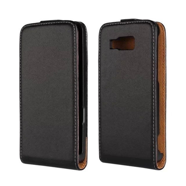 Luxury Genuine Real Leather Case Flip Cover Mobile Phone Accessories Bag Retro Vertical For Huawei H889L Ascend W2 PS