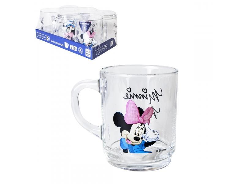 Set mugs Luminarc, Disney Mickey Colors, 6 PCs stylish 6 pcs plastic handle nylon eye makeup brushes set