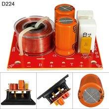 12v 80w 48hz-20khz alto-falante 2 maneira áudio divisor de frequência alto-falante crossover filtros apropriados para alto-falantes