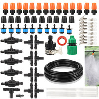 DIY Single Outlet Atomizing Nozzle Cooling Spray Irrigation Watering Kit J2Y