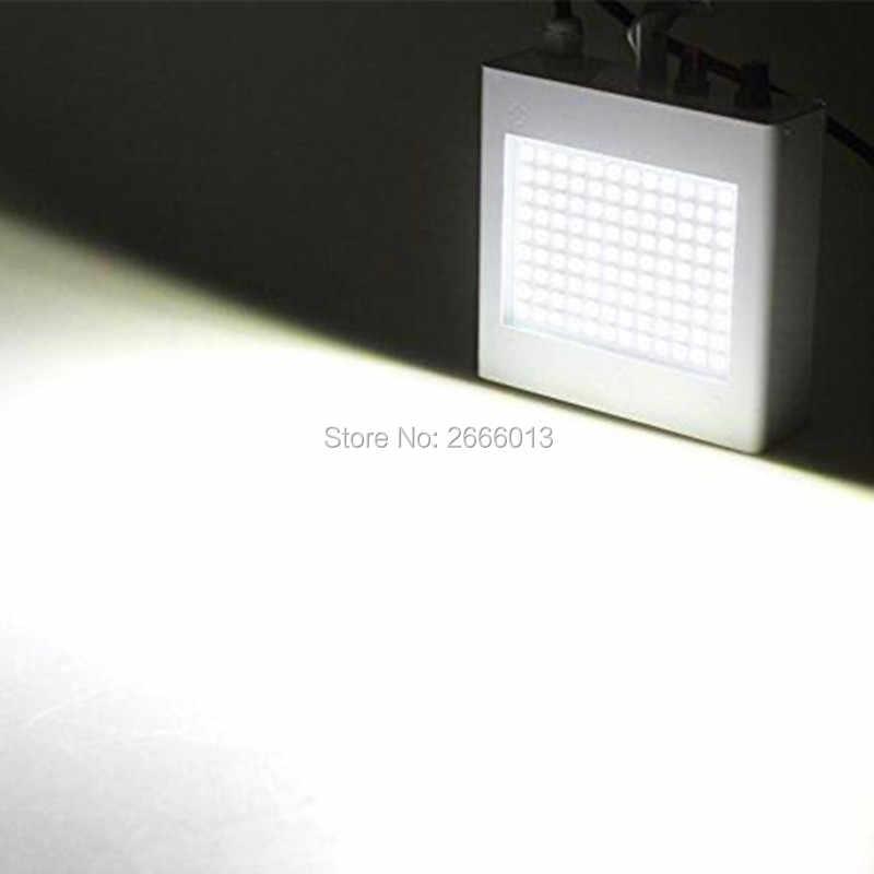 Niugul 108 светодиодов управление звуком RGB/белый сценический свет диско стробоскоп