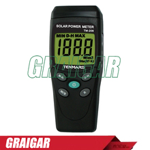 Promo offer Solar Power Meter TM-206 with 3 1/2 digits LCD display  Solar Radiation Measurements Tester