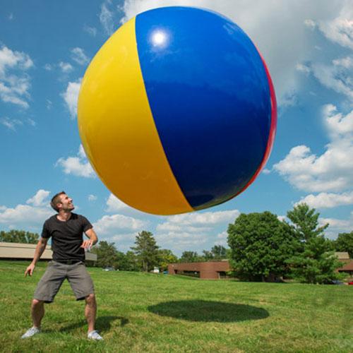 130 CM charme Super grand ballon de plage gonflable coloré balle de natation jeu de plein air jouets PVC balles en plastique pour enfants livraison gratuite
