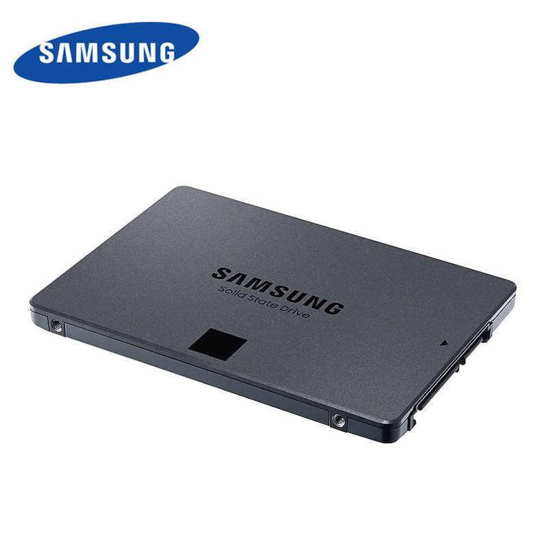 Dysk samsung SSD 860 QVO 1TB wewnętrzny dysk półprzewodnikowy HDD 2.5 cala SSD SATA3 V-NAND do laptopa pulpit pc MLC dysk twardy 2tb