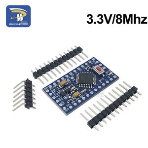 Image 2 - 10 ピース/ロットプロミニ 328 3.3V 8Mhz ATMEGA328 電子ビルディングブロック ATMEGA328P 5 V/16 メートル arduino の互換 Nano