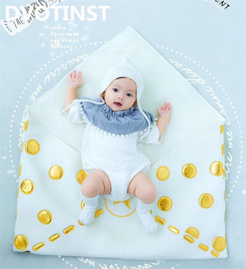 Dvotinst Baby Photography Props Envelope Theme Background Costume Clothes Set Fotografia Accessory Studio Shooting Photo Props