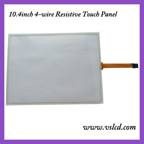 10.4inch 4 wire resistive touch screen panel 10.4inch touch panel work for 10.4inch 4:3 tft as A104SN03 new 10 1 inch 4 wire resistive touch screen panel for 10inch b101aw03 235 143mm screen touch panel glass free shipping
