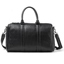 Travel Bags 2017 new hot Men's Handbags High-capacity Knitwear Short-haul Business Luggage Bag Shoulder Bags Travel Pack YY986