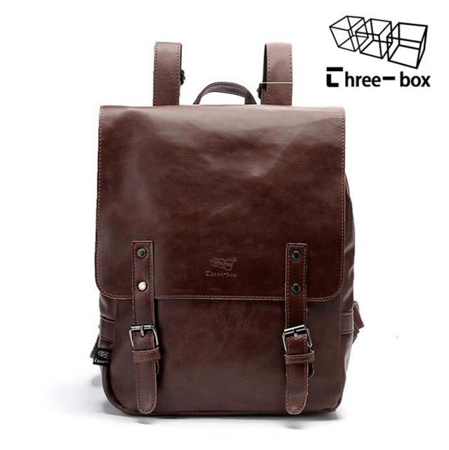 2017 Real men travel Bag Infantil The for Restoring Ancient Ways Backpack Students of High Quality Pu backpack women School bag