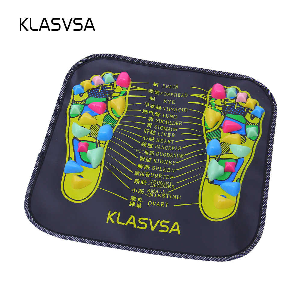 Reflexology Walk Stone Foot Leg Pain Relief Walk Massager Mat Acupressure Mat Pad massager
