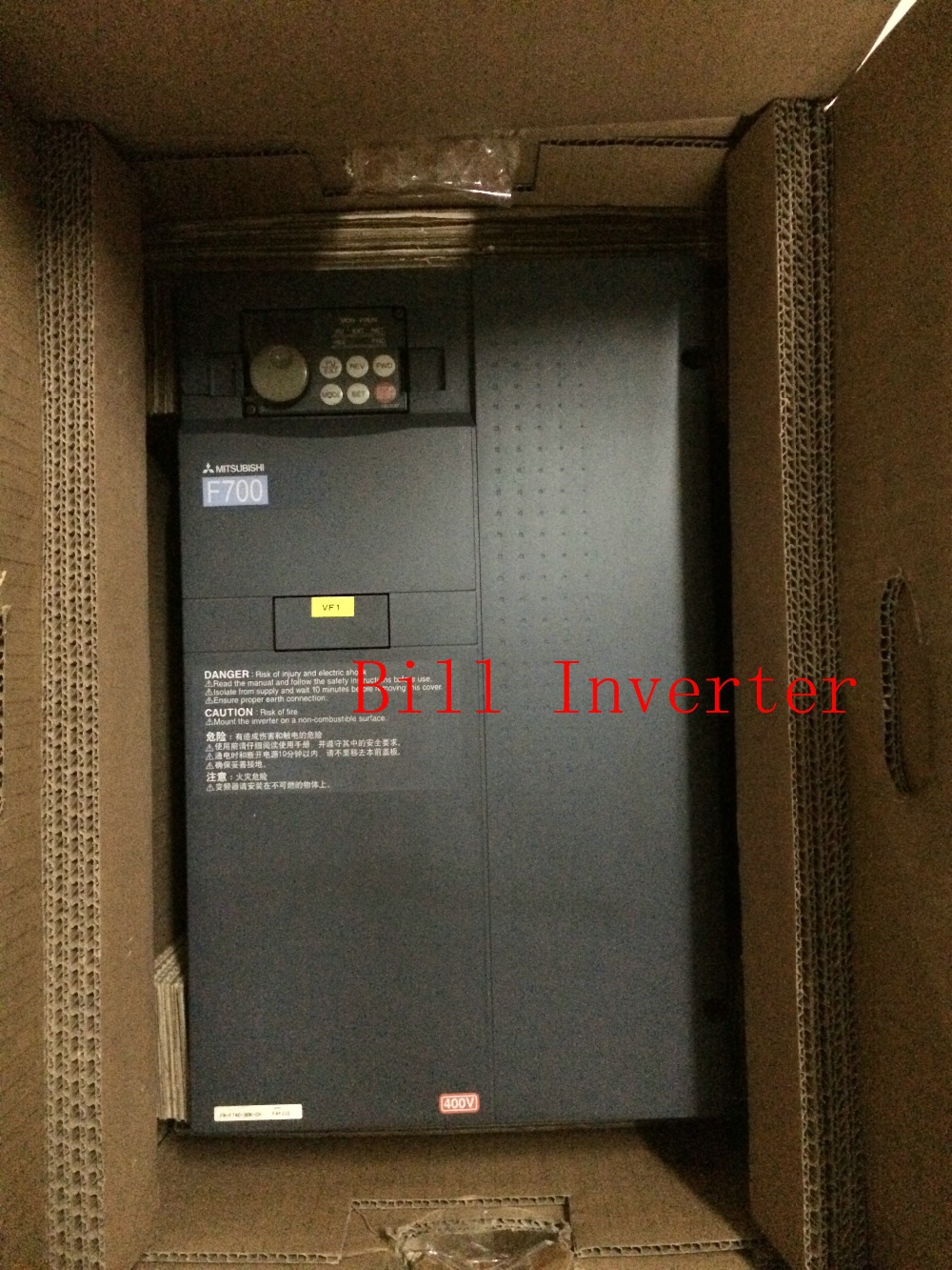 все цены на  Used VFD Inverter  F700 37KW original Japanese Inverter 380v three phases input  онлайн