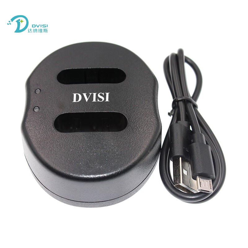 DVISI NP-BX1 Dual USB Charger 2-Port for NPBX1 BX1 for Sony RX100 DSC-RX100 IV RX10 II HX50 HX300 HDR-AS15 CX240E MV1